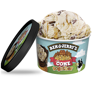 Foto Ben & Jerry's cone together